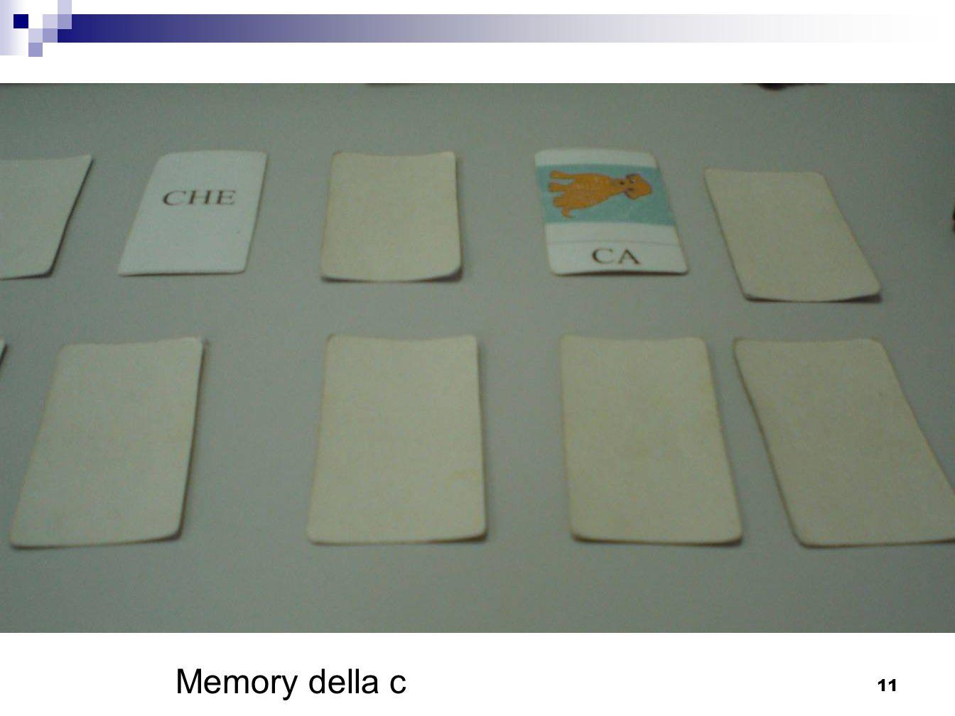 Memory della c 11