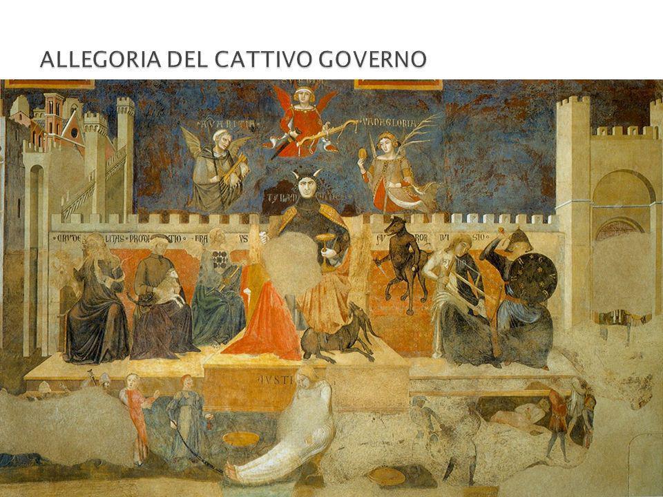 ALLEGORIA DEL CATTIVO GOVERNO