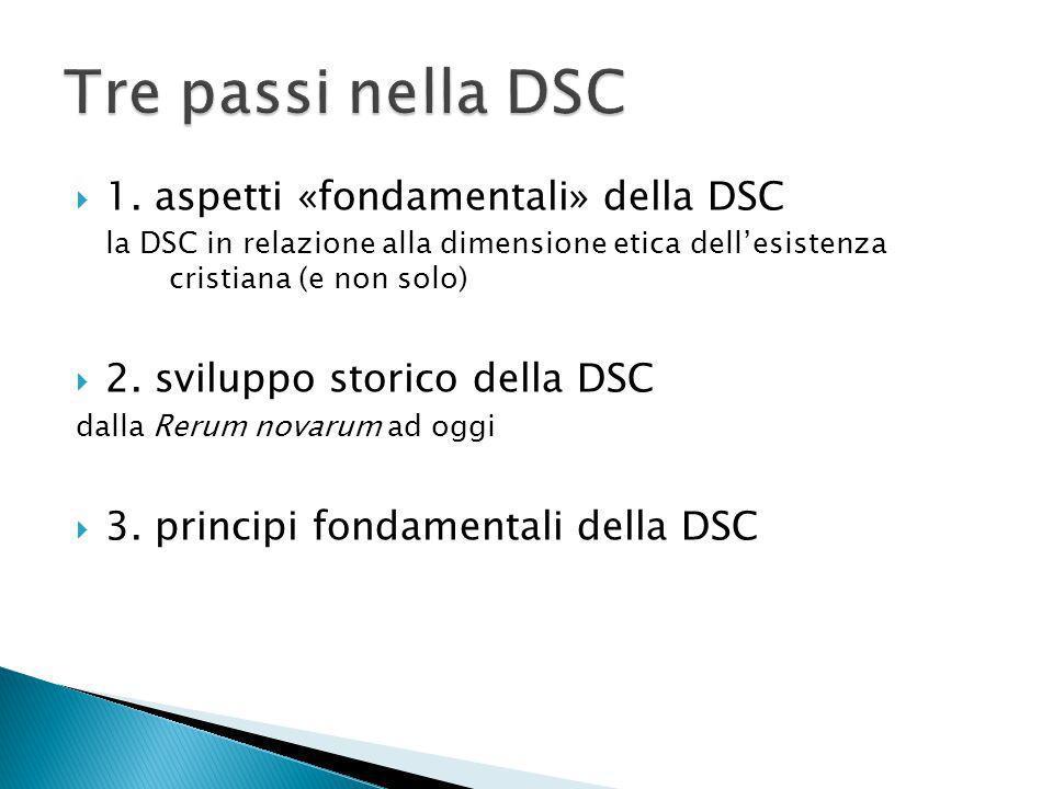 Tre passi nella DSC 1. aspetti «fondamentali» della DSC