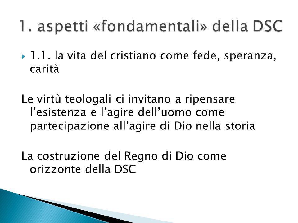 1. aspetti «fondamentali» della DSC