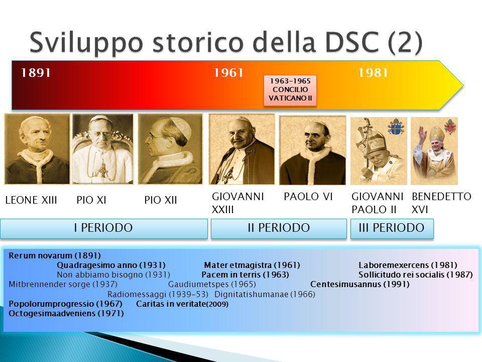 Sviluppo storico della DSC (2)