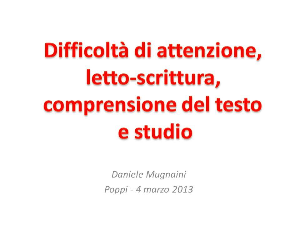 Daniele Mugnaini Poppi - 4 marzo 2013