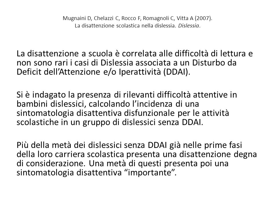 Mugnaini D, Chelazzi C, Rocco F, Romagnoli C, Vitta A (2007)