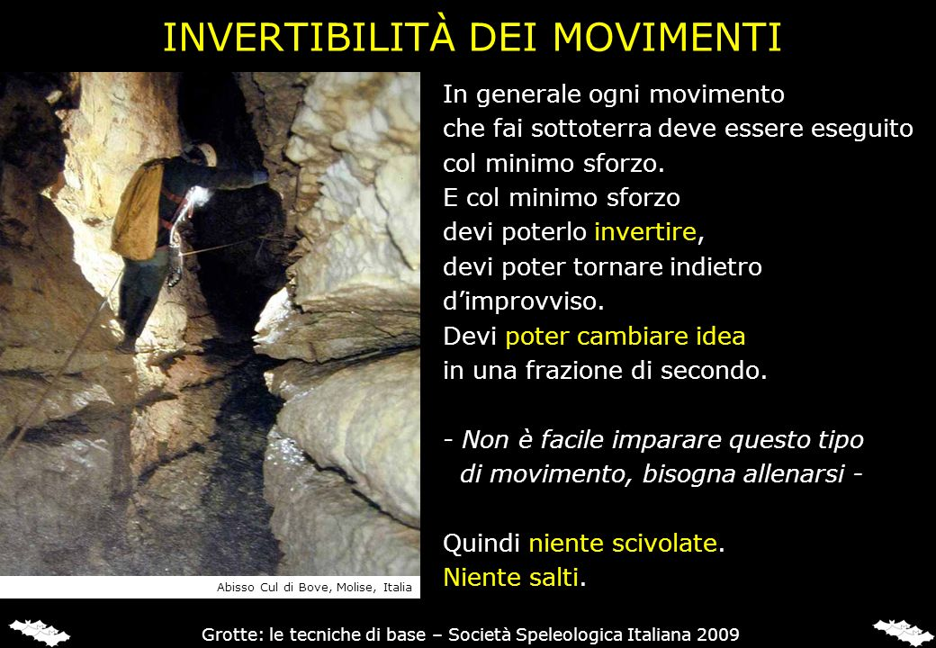 INVERTIBILITÀ DEI MOVIMENTI