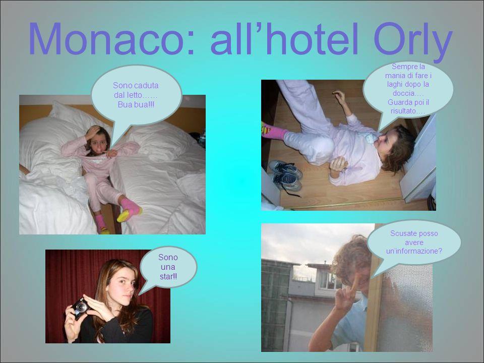 Monaco: all'hotel Orly