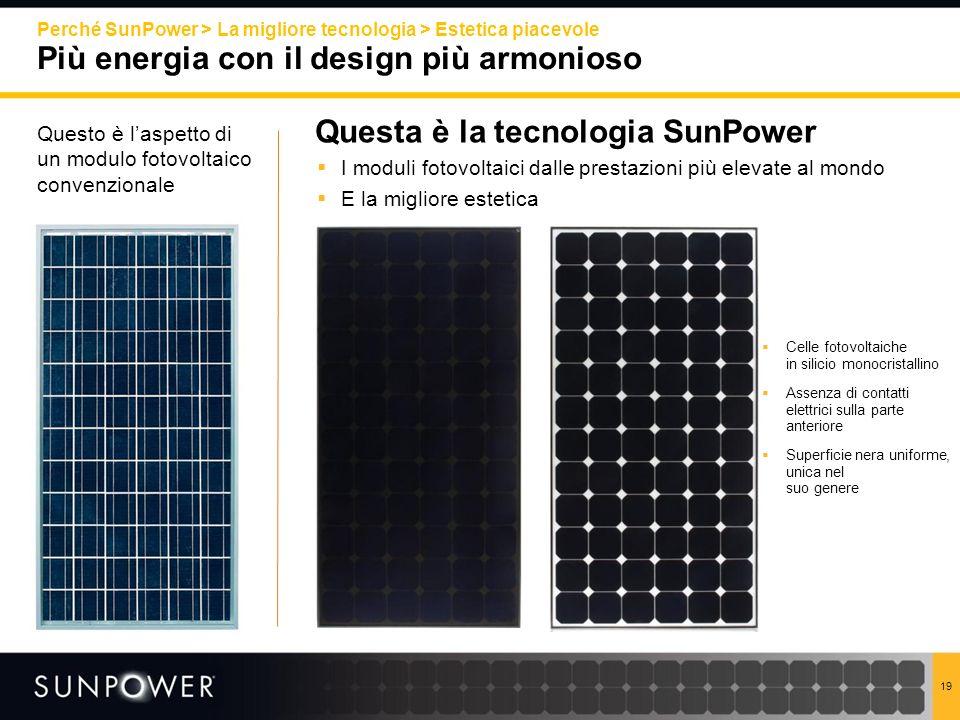 Questa è la tecnologia SunPower
