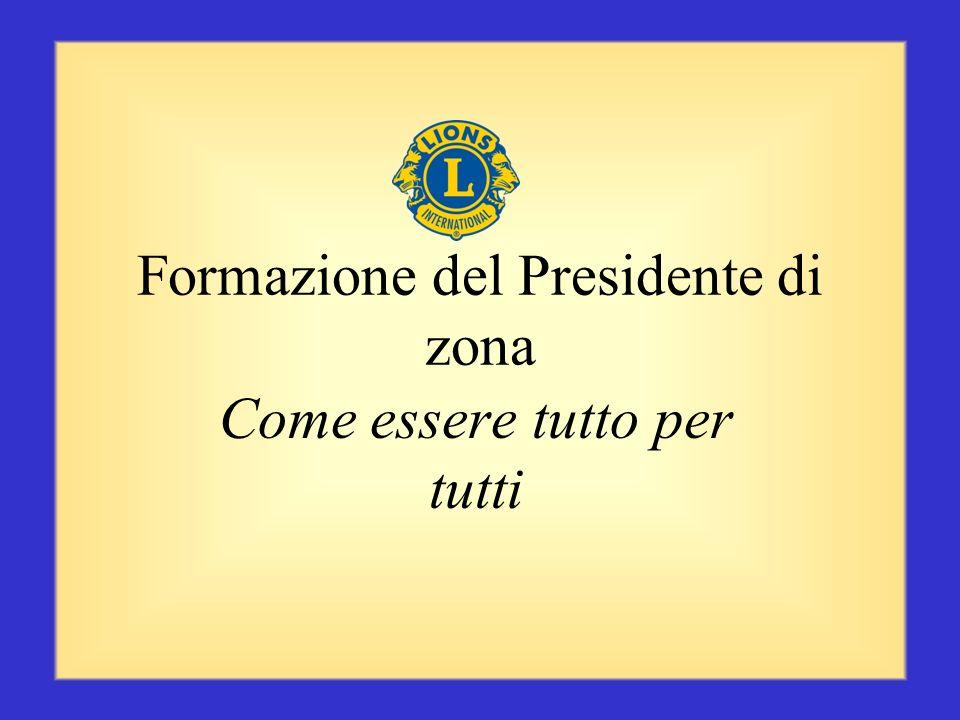Formazione del Presidente di zona