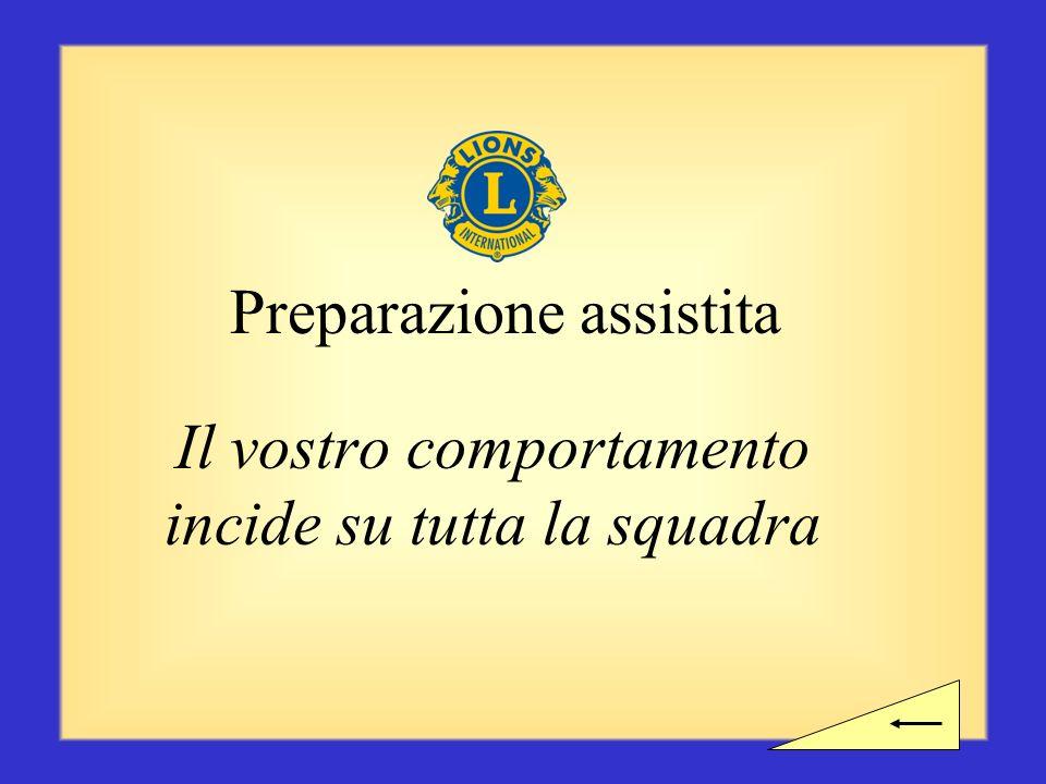 Preparazione assistita