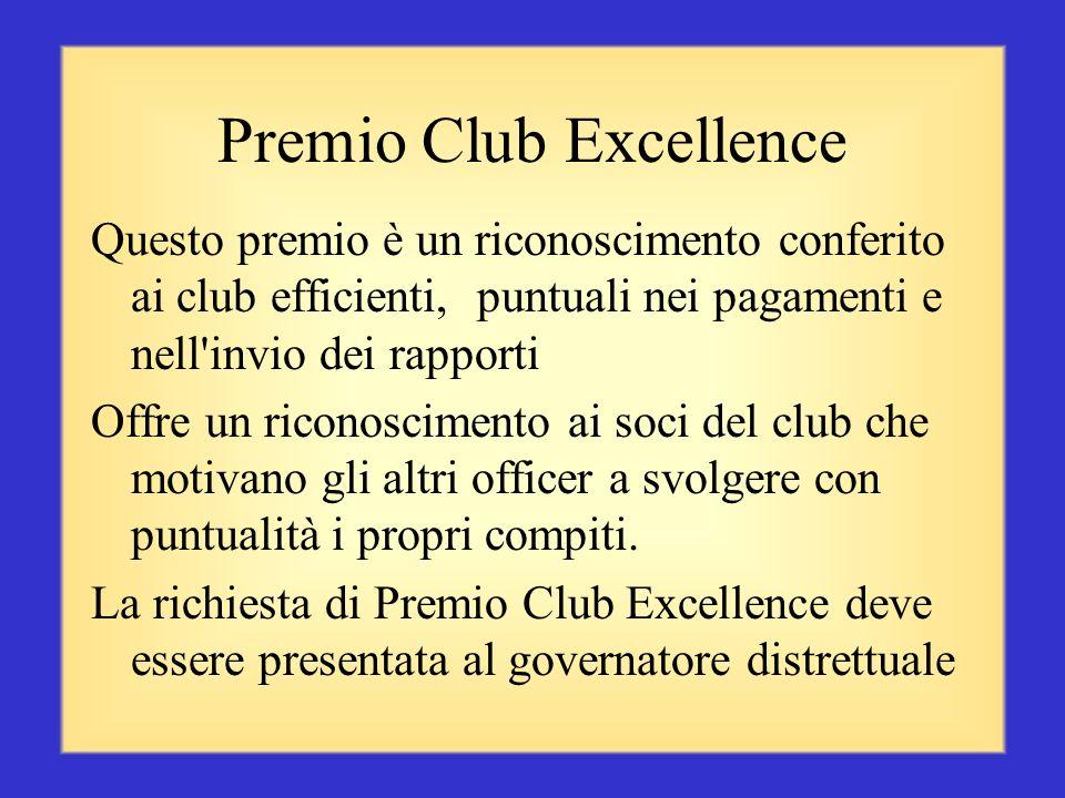 Premio Club Excellence
