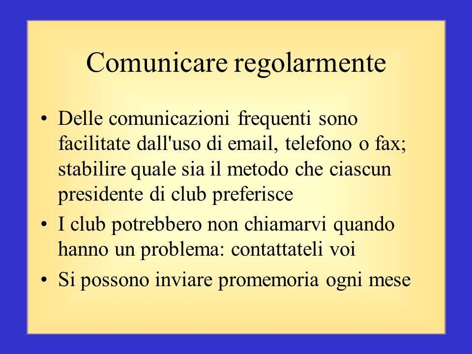 Comunicare regolarmente