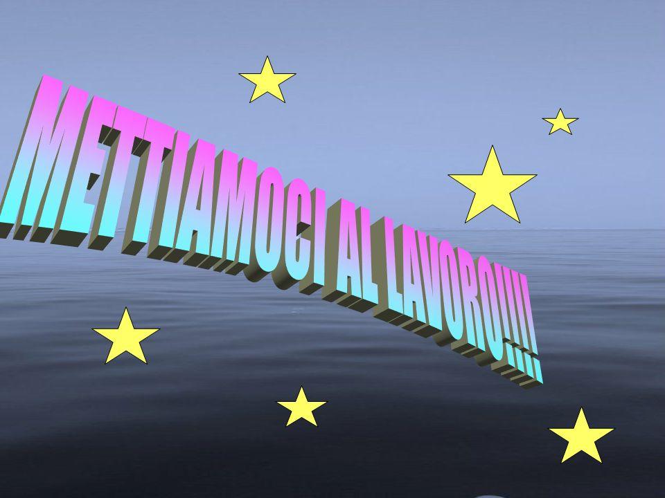 METTIAMOCI AL LAVORO!!!!