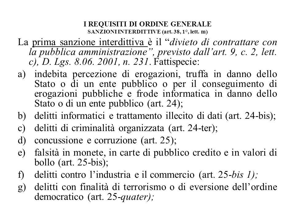 delitti informatici e trattamento illecito di dati (art. 24-bis);