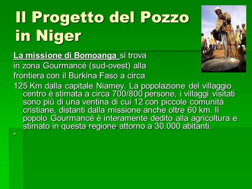 Il Progetto del Pozzo in Niger