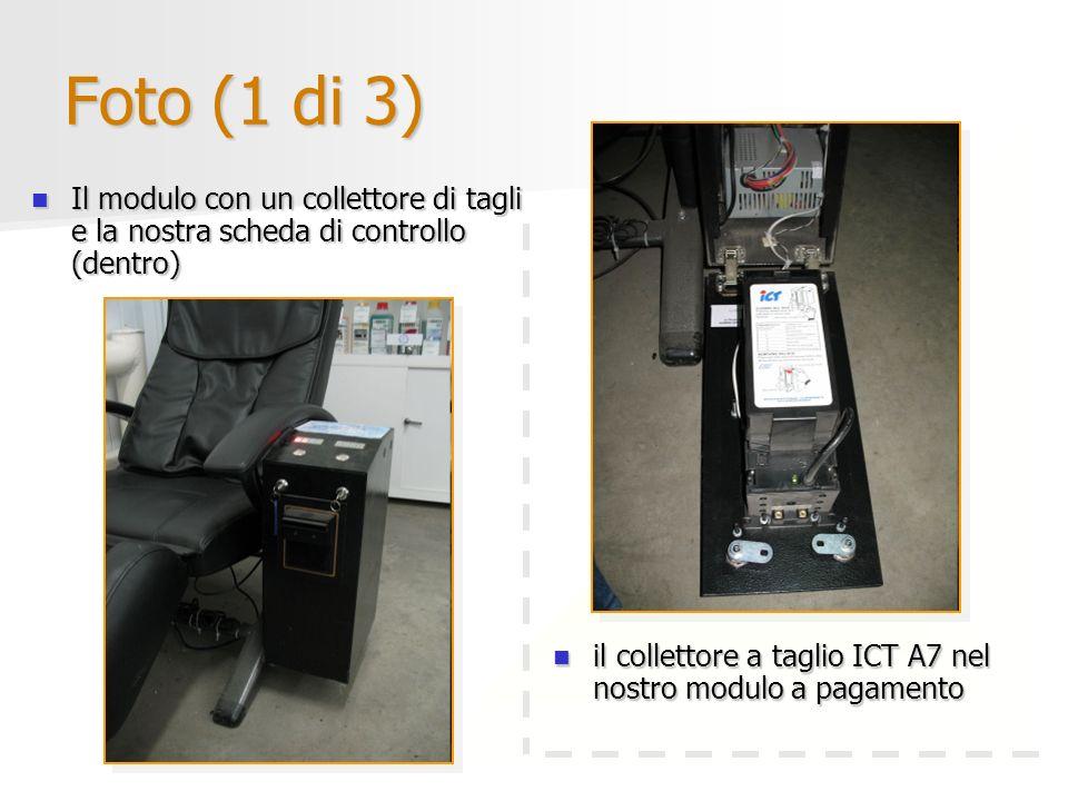 Foto (1 di 3)Il modulo con un collettore di tagli e la nostra scheda di controllo (dentro)