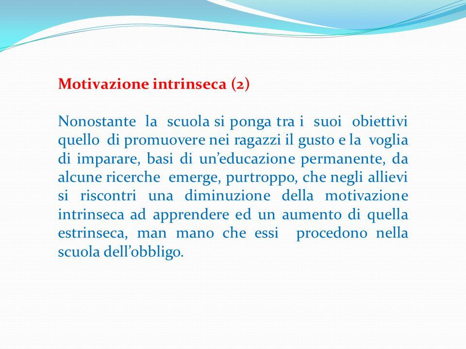 Motivazione intrinseca (2)