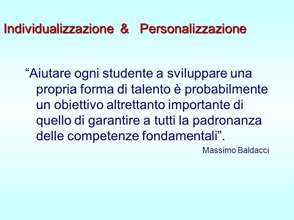 Individualizzazione & Personalizzazione