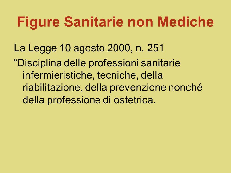 Figure Sanitarie non Mediche