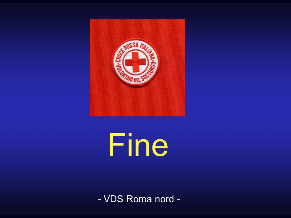 Fine - VDS Roma nord -