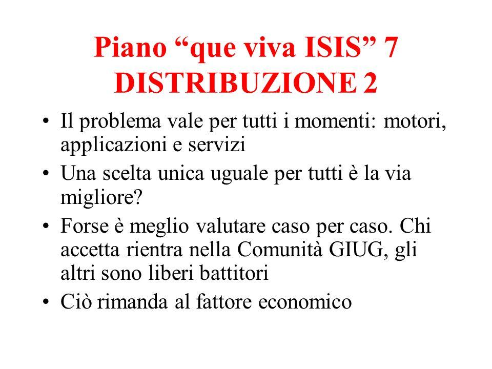 Piano que viva ISIS 7 DISTRIBUZIONE 2