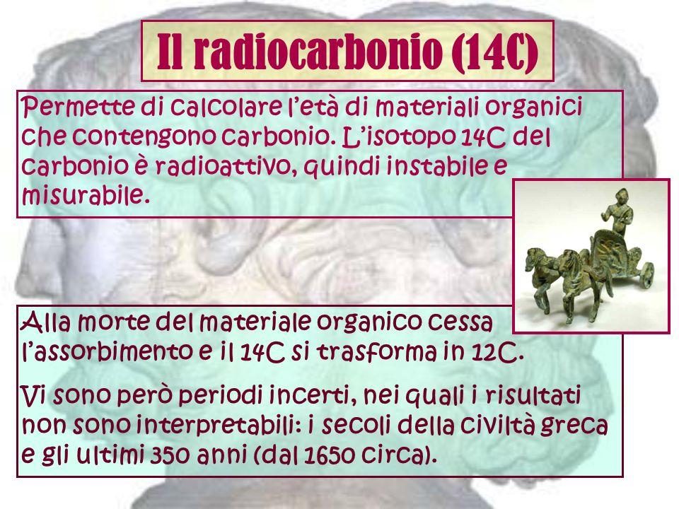 Il radiocarbonio (14C)