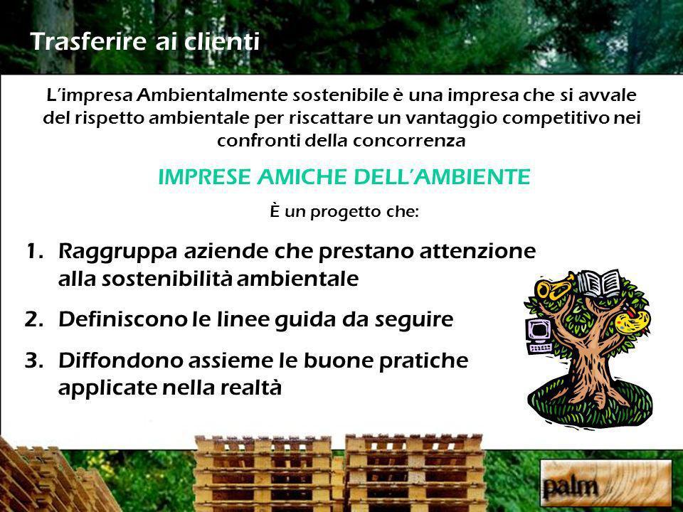 IMPRESE AMICHE DELL'AMBIENTE