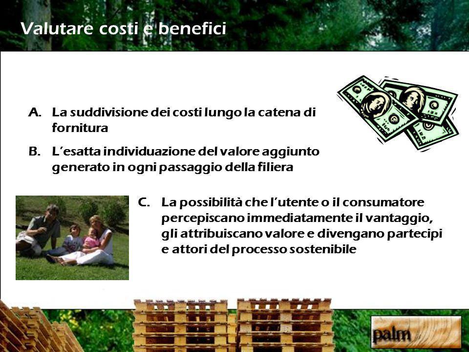 Valutare costi e benefici
