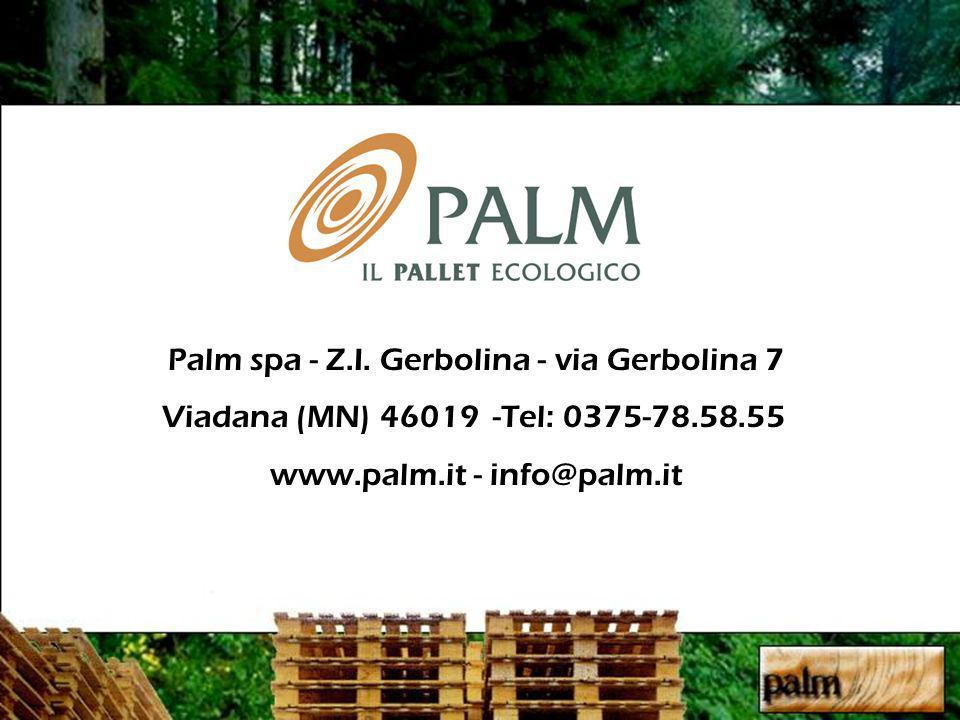 Palm spa - Z.I. Gerbolina - via Gerbolina 7