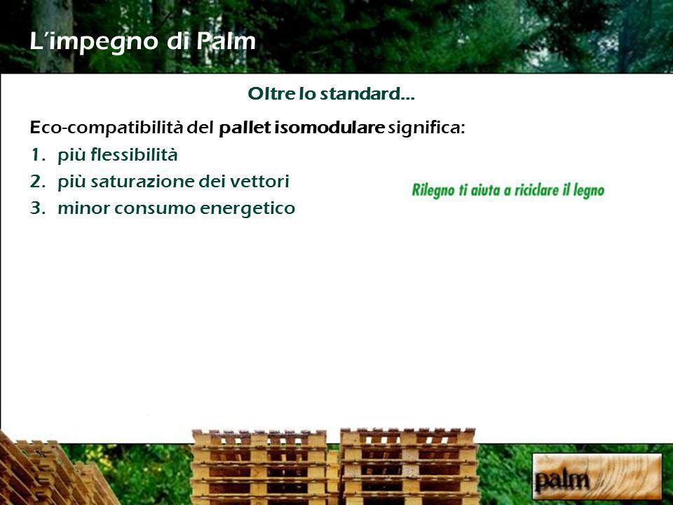 L'impegno di Palm Oltre lo standard…