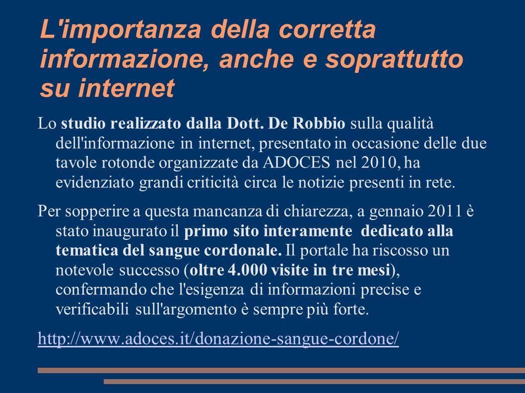 L importanza della corretta informazione, anche e soprattutto su internet