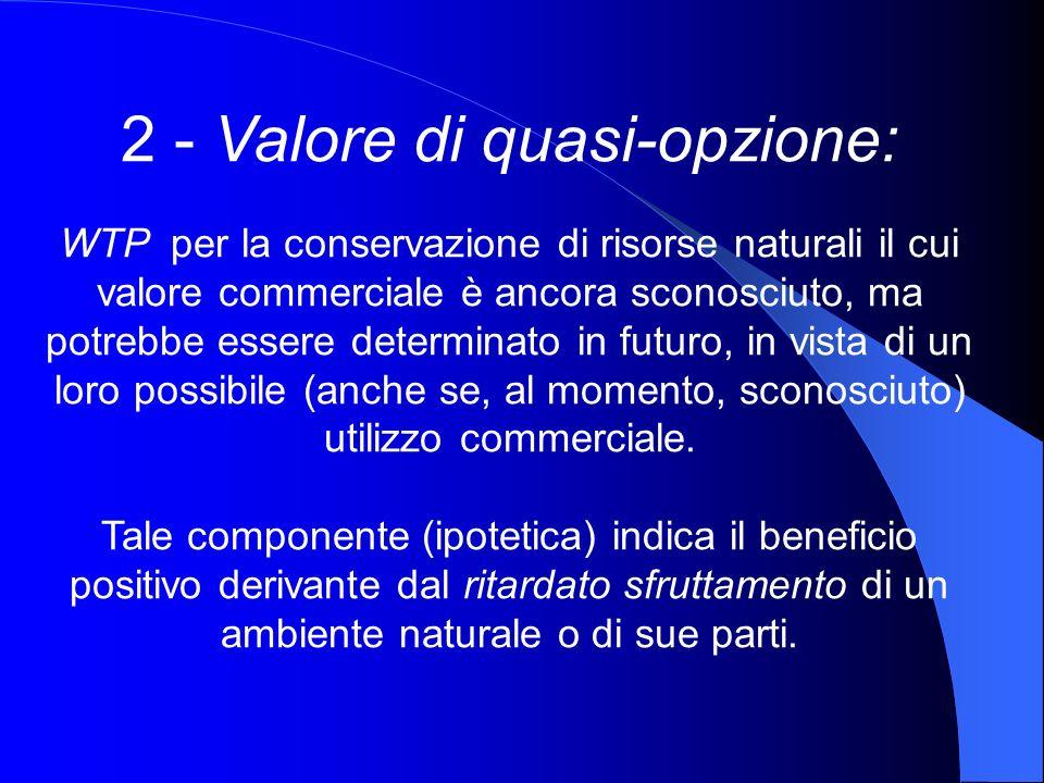 2 - Valore di quasi-opzione: