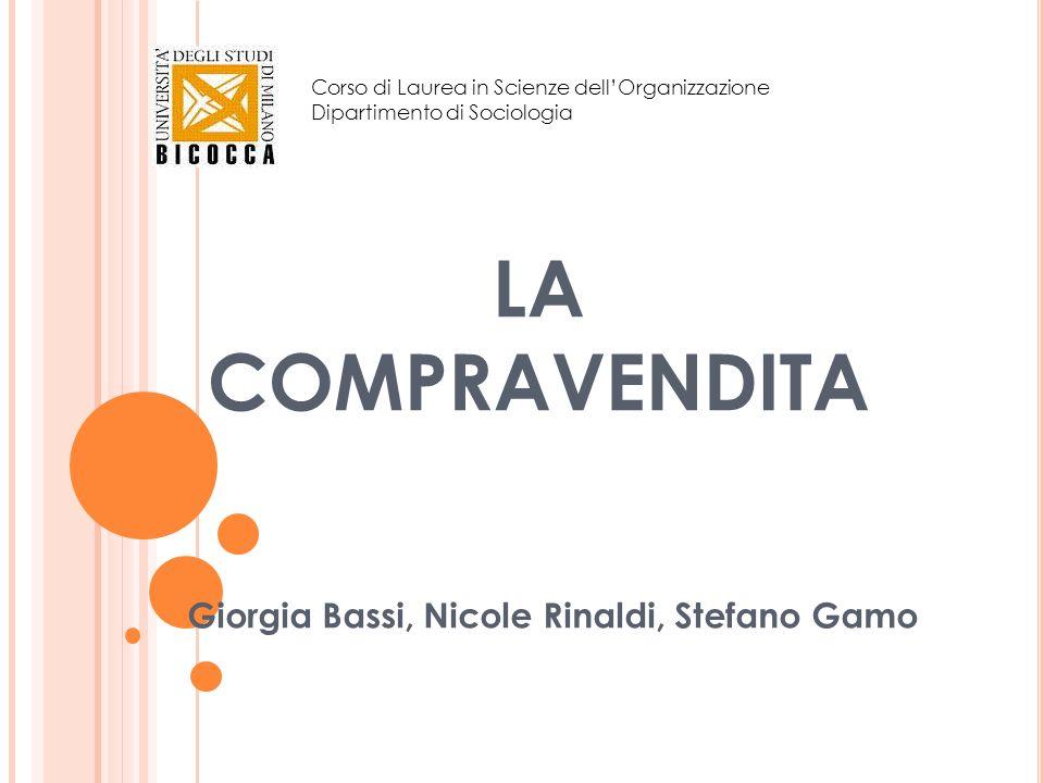 Giorgia Bassi, Nicole Rinaldi, Stefano Gamo