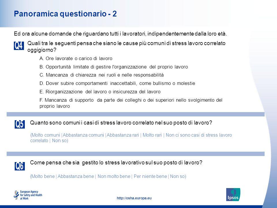 Panoramica questionario - 2