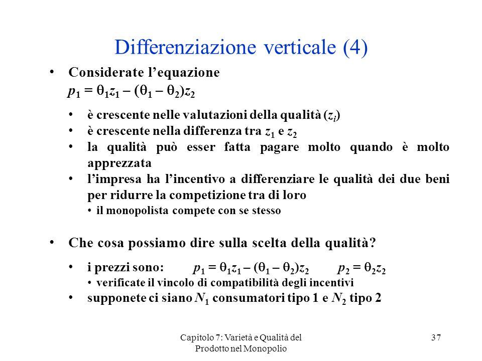 Differenziazione verticale (4)
