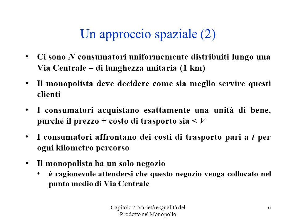 Un approccio spaziale (2)