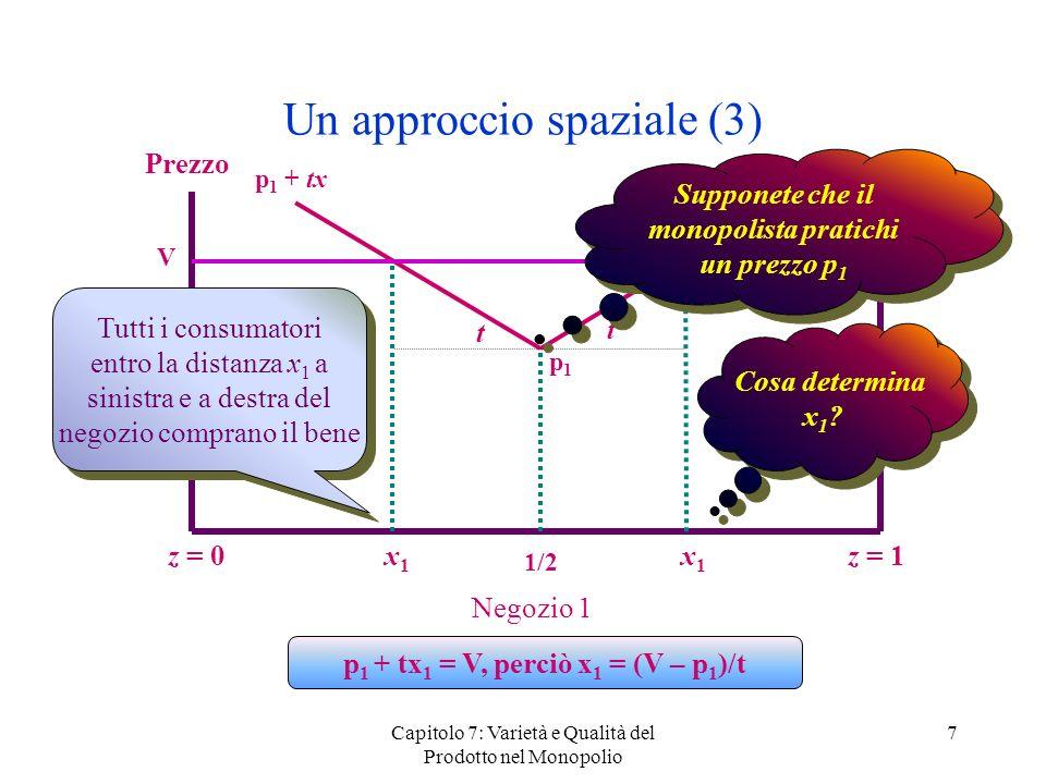 Un approccio spaziale (3)