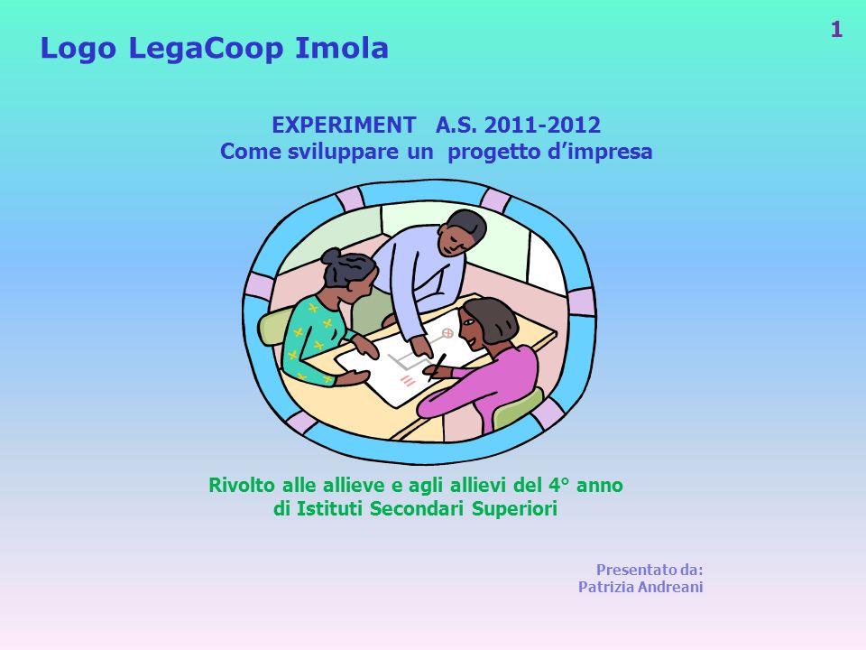 Logo LegaCoop Imola EXPERIMENT A.S. 2011-2012
