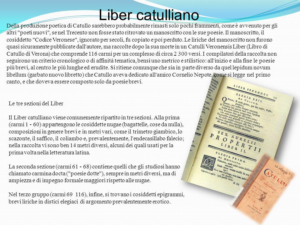 Catullo vita catullo nasce da un agiata famiglia intorno all 39 84 a c e mor tra il a c educato - Se monto pneumatici diversi dal libretto ...