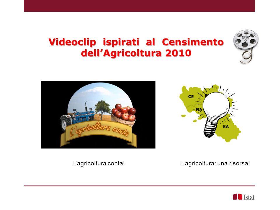 Videoclip ispirati al Censimento dell'Agricoltura 2010