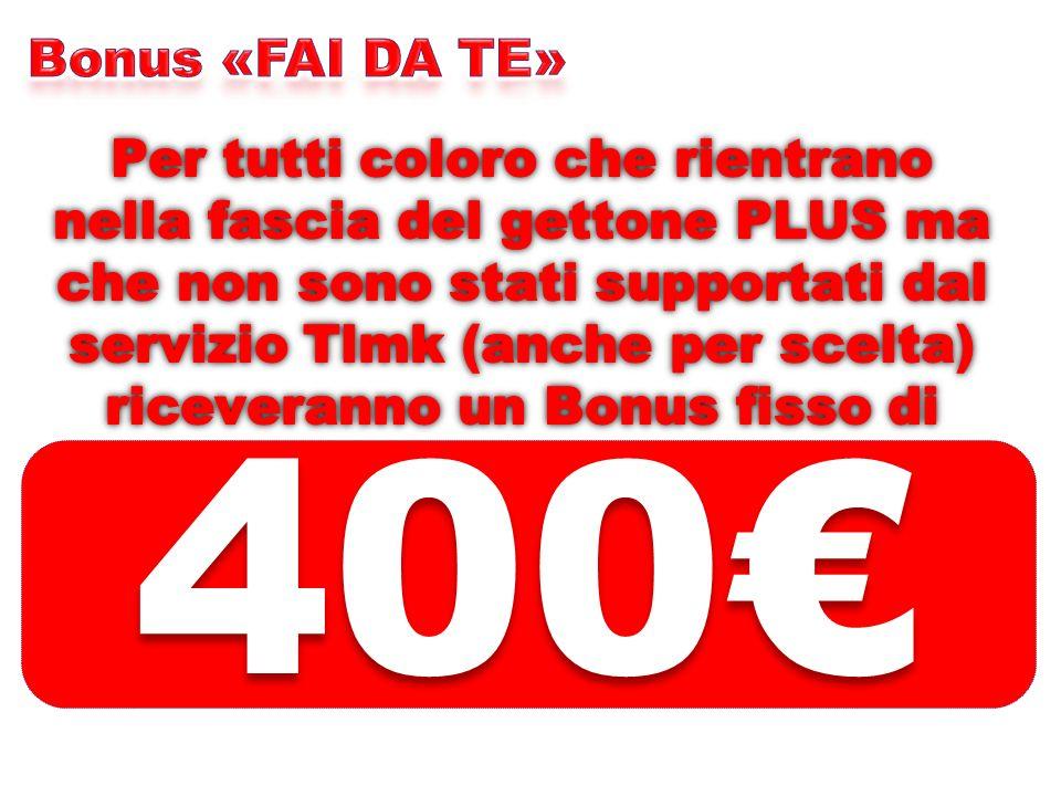 Bonus «FAI DA TE»