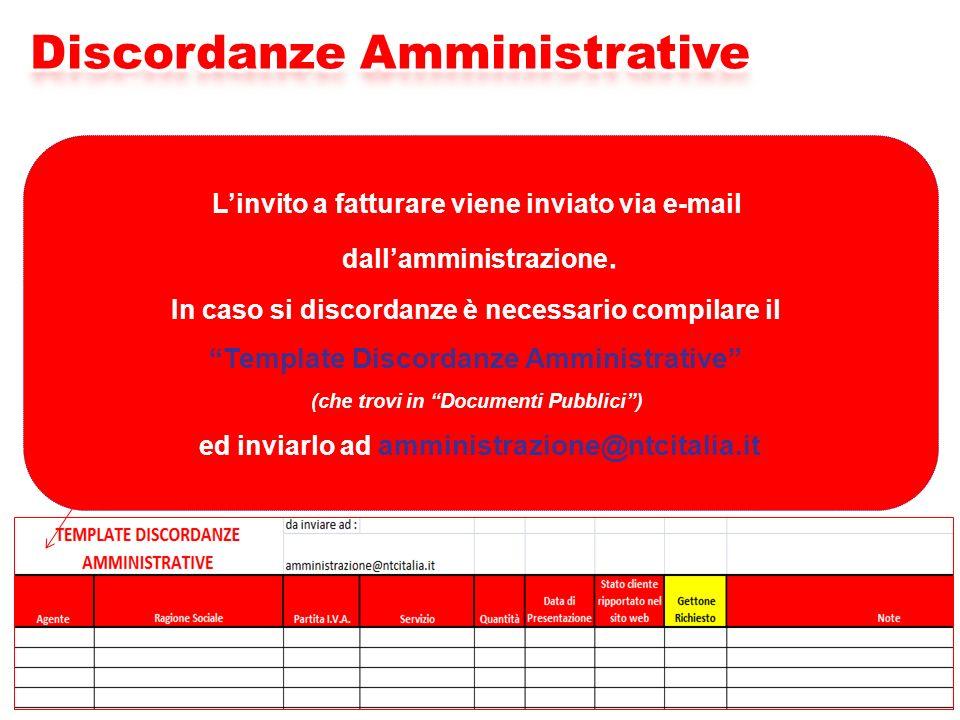 Discordanze Amministrative