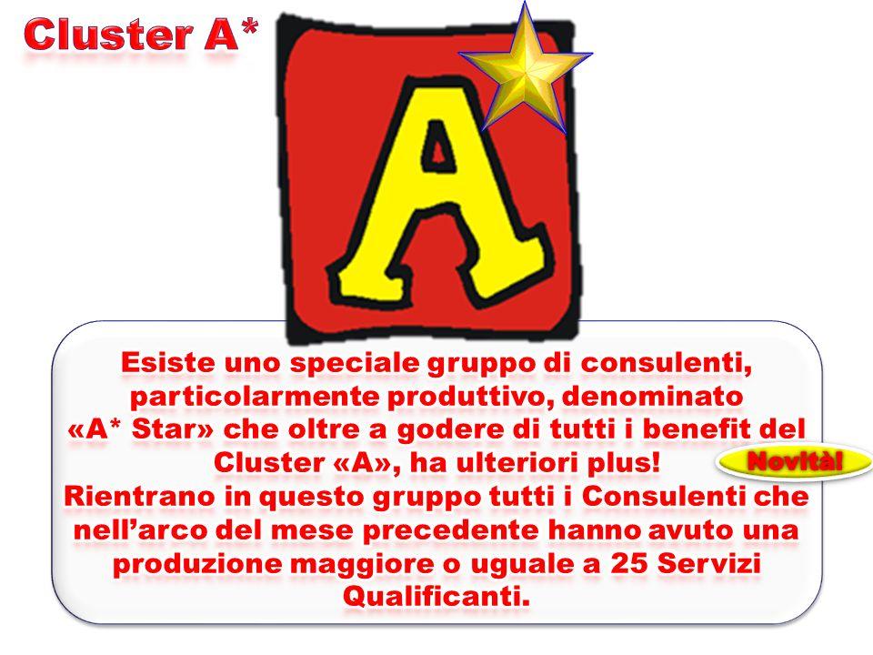 Cluster A* Esiste uno speciale gruppo di consulenti, particolarmente produttivo, denominato.