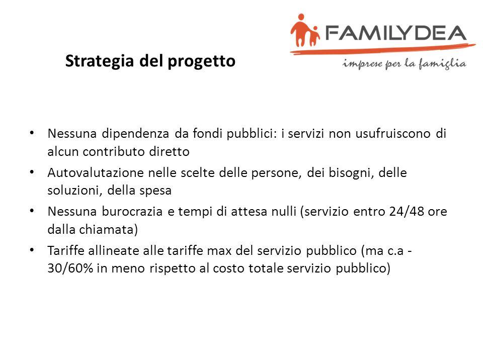 Strategia del progetto