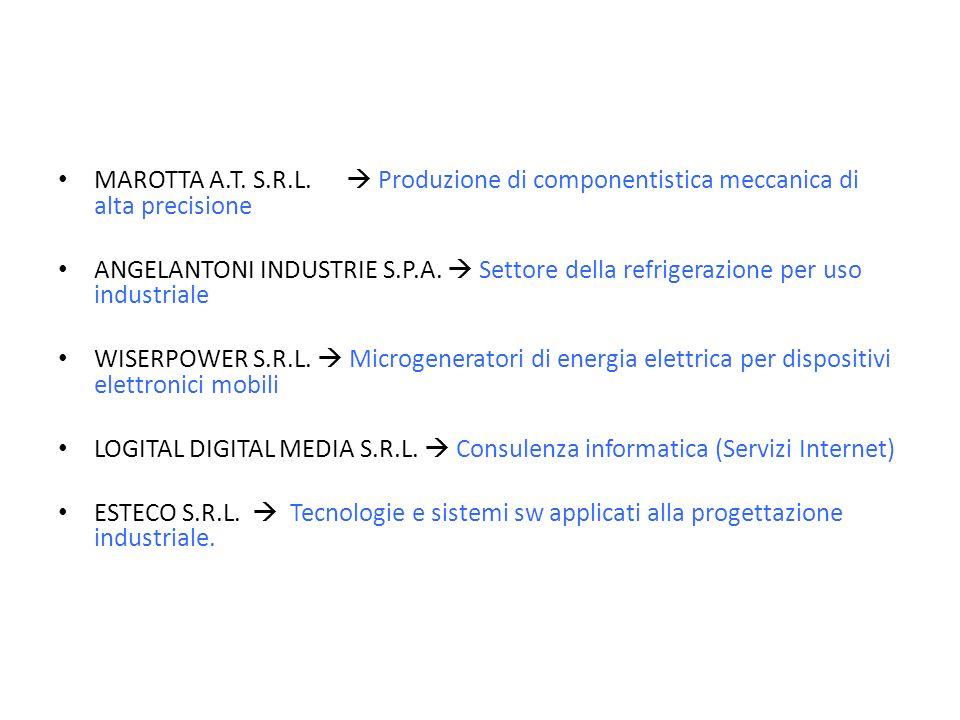 MAROTTA A.T. S.R.L.  Produzione di componentistica meccanica di alta precisione