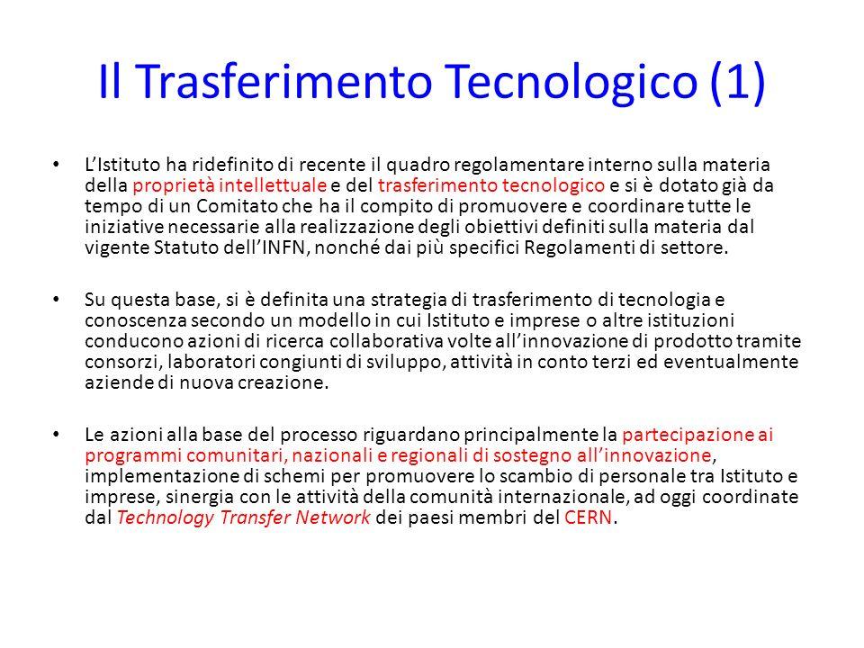 Il Trasferimento Tecnologico (1)