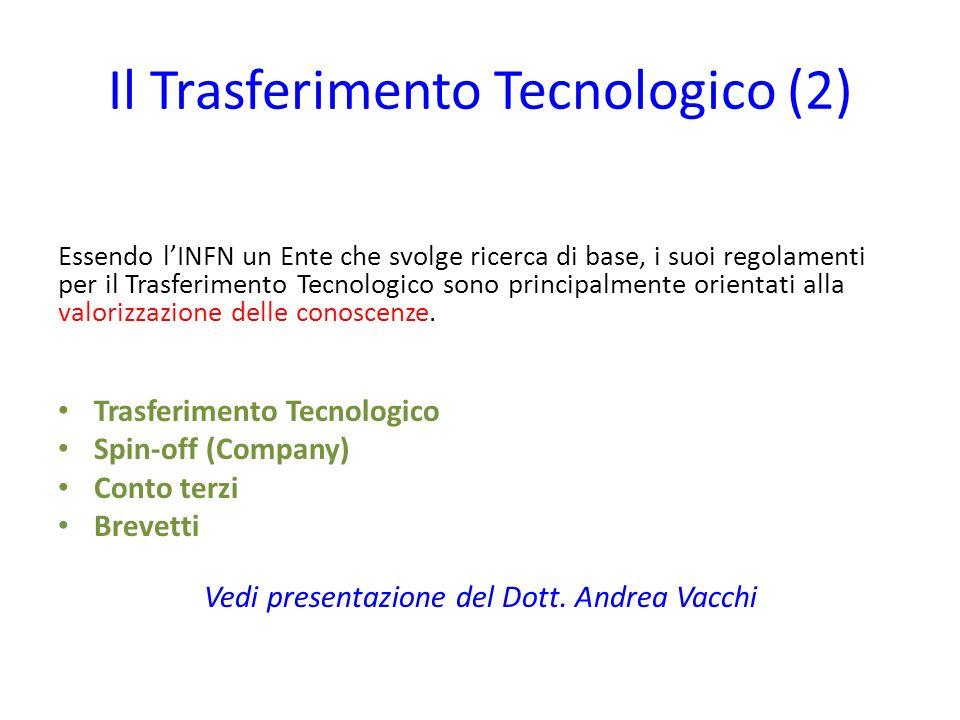 Il Trasferimento Tecnologico (2)
