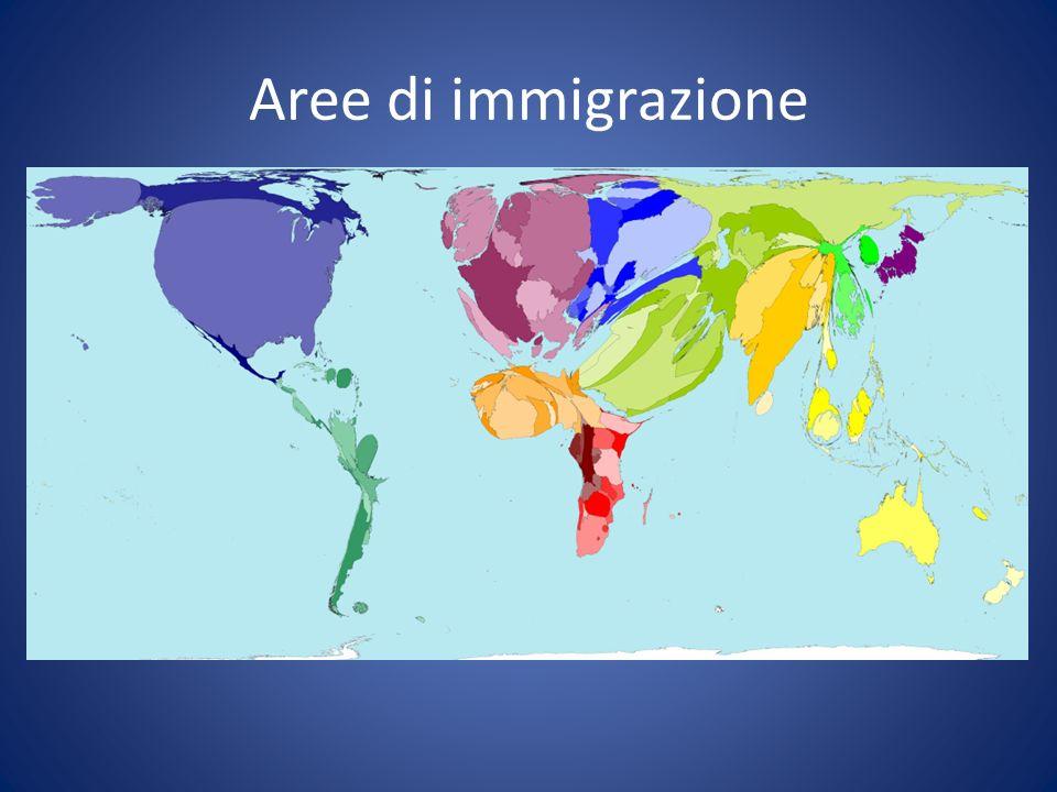 Aree di immigrazione