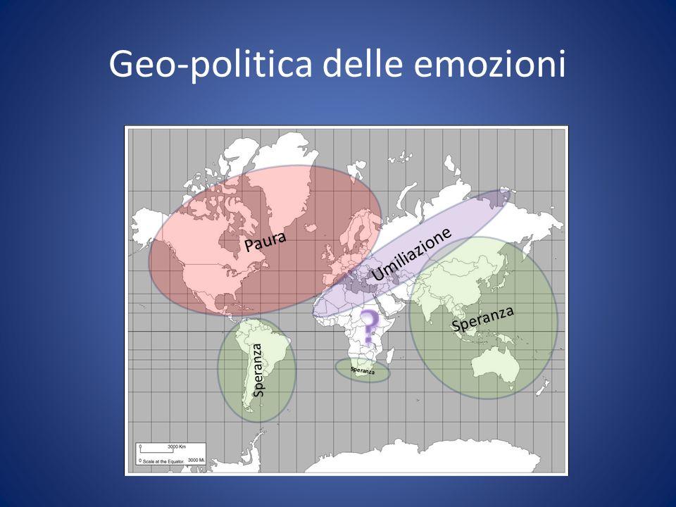 Geo-politica delle emozioni
