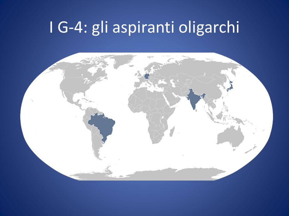 I G-4: gli aspiranti oligarchi