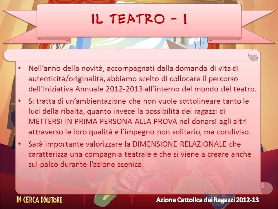 IL TEATRO - 1