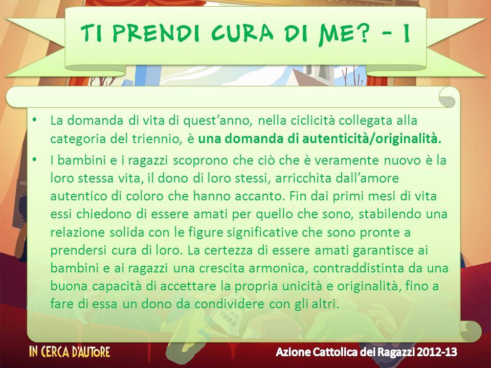 TI PRENDI CURA DI ME - 1